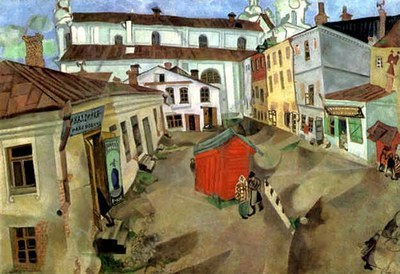 the market place Vitebsk