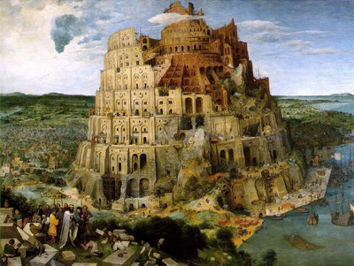 59 Brueghel tower of babel