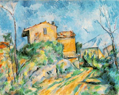 Cezanne   Maison Maria with a View of Chateau Noir