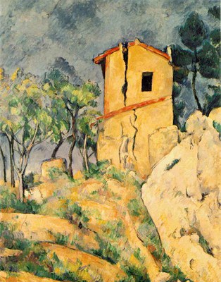 Cezanne   The House with Cracked Walls