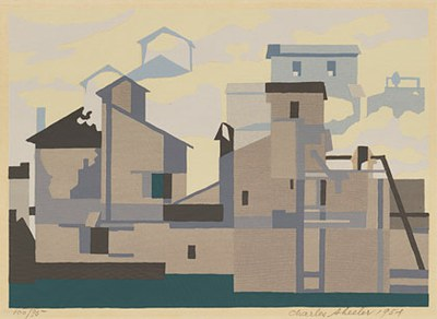 Charles Sheeler Architectural Cadences 1954