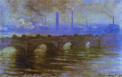 Claude Monet   London. The Waterloo Bridge