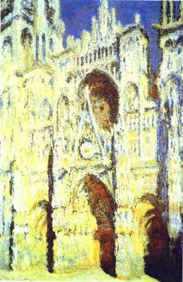 Claude Monet   The Rouen Cathedral. Portail. The Albaine Tower