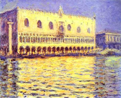 Claude Monet   Venice. The Doge Palace