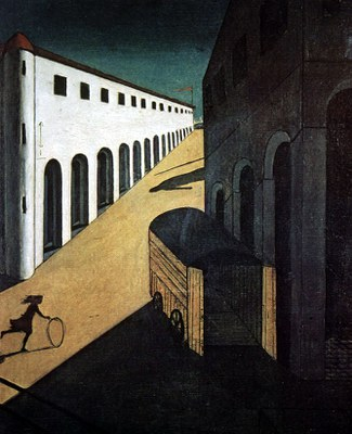 De Chirico   Melancholy and Mystery of a street