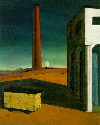 De Chirico   The Anguish of Departure