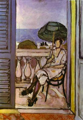 Henri Matisse   Woman with Umbrella