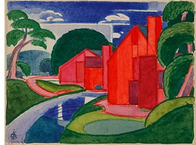 tars, azlo flach soho fat mill 1920 bluemner