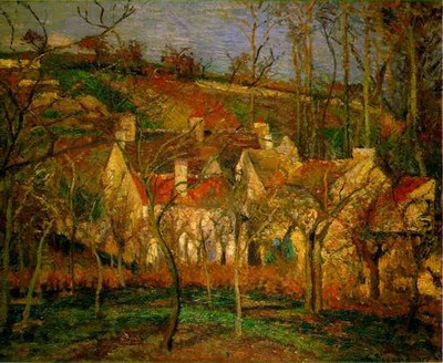Toits rouges Pissaro