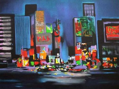 Time square marcel mouly