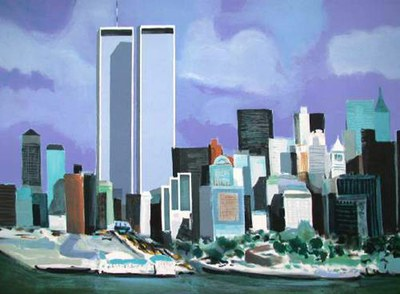 Twin towers marcel mouly
